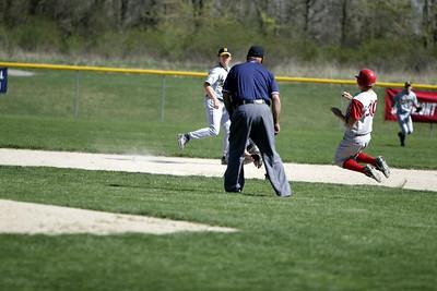 Boys Varsity Baseball - 4/21/2006 North Muskegon