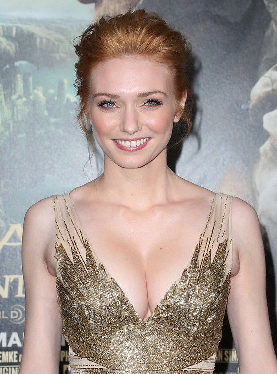 ". Actress Eleanor Tomlinson attends the Premiere Of New Line Cinema\'s ""Jack The Giant Slayer\"" at the TCL Chinese Theatre on February 26, 2013 in Hollywood, California.  (Photo by Frederick M. Brown/Getty Images)"