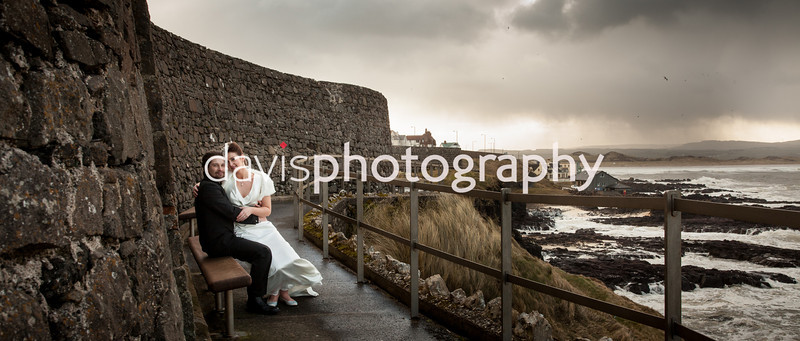 Fiona & Jamie Portrush Wedding Photographer