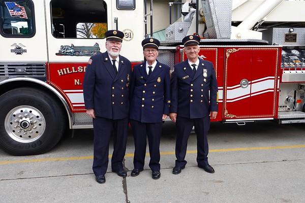 Hillsdale Fire Department 50/60 year Celebration- George Wodowski, Butch Franklin and Frank Gluckler November 3, 2019