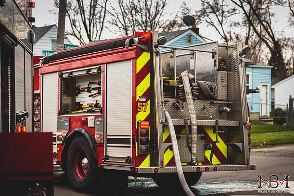 Detroit MI, House Fire 4-6-2020