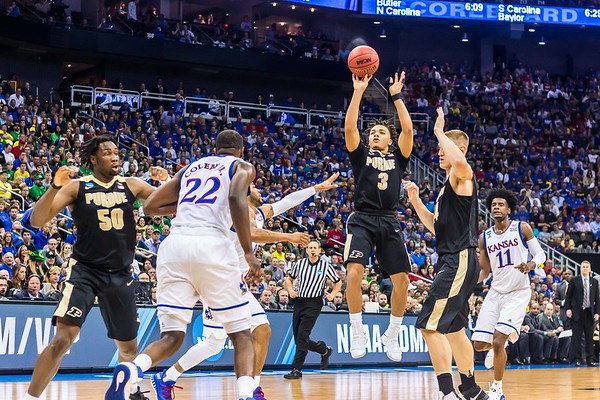 #4 Purdue vs #1 Kansas