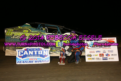 08/29/14 Can-Am Feature Winners