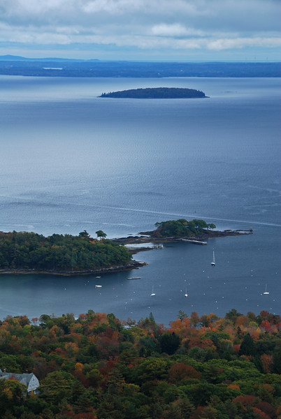 Overlook Above Camden, Maine