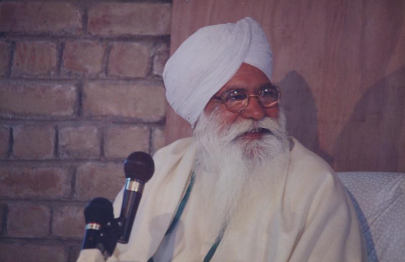 Sant Ji - March 1995 SKA + Visit to a School