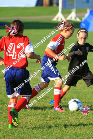 U9 Girls - FC United Hurricanes Blue vs St_ Paul Blackhawks