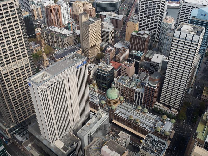 Sydney Tower - Queen Victoria Building