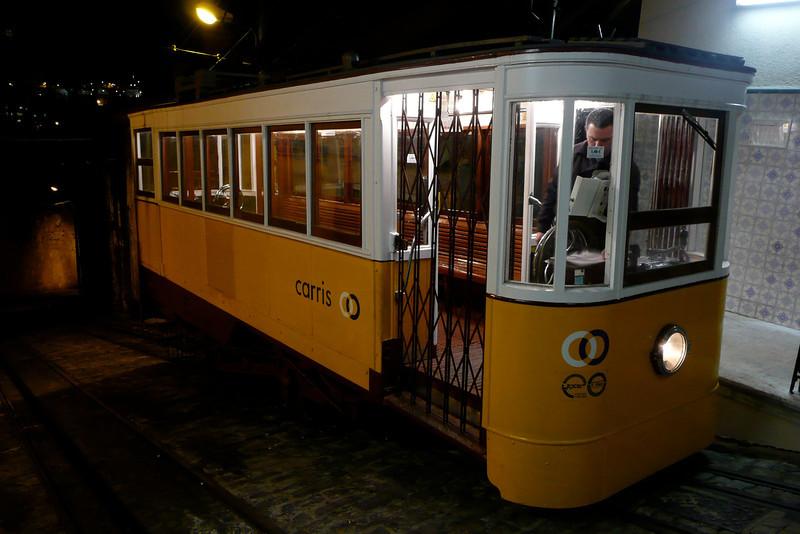 Funicular. Baixa, Lisbon