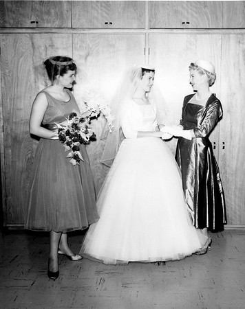 1958/02 - Jerry and Barbara's Wedding