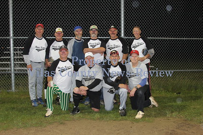 Eagle River 65 & Over Softball Team