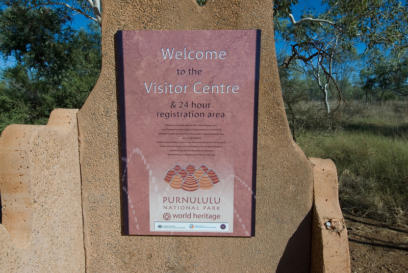 Sign, Purnululu National Park - Western Australia