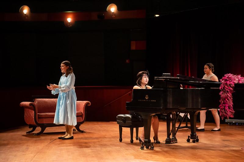 Texas A&M University-Corpus Christi's Fall 2018 Pinstripe Harry Opera Performance.