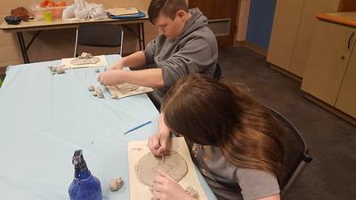 Teen Homeschoolers: Pottery