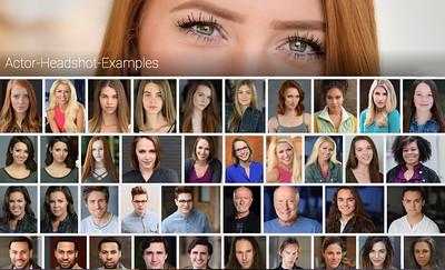 Actor Headshot Examples