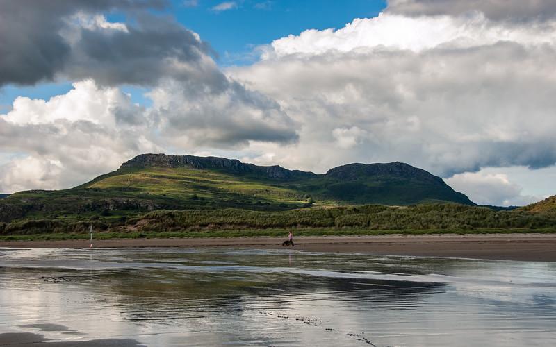 Moel-y-Gest mountain in Snowdonia