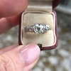 1.71ct Old Mine Cut Diamond Solitaire GIA K SI2 12