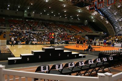 2012 EIWA Tournament, Jadwin Gym, Princeton, NJ March 3& 4, Rutgers, Army , Navy featured .