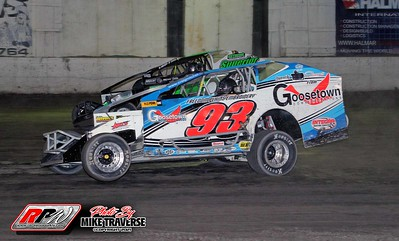 Orange County Fair Speedway - 4/10/21 - Mike Traverse