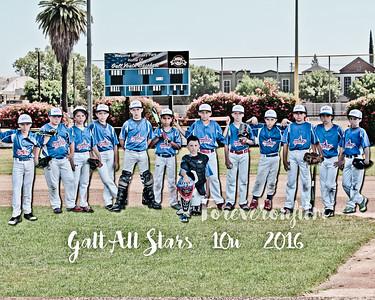 Galt All stars Posters 2016