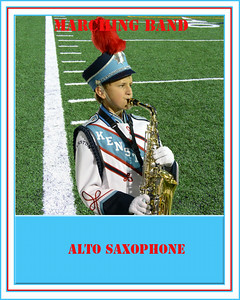 Marching Band Cards