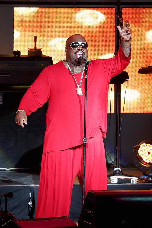 . CeeLo Green performs at DTE Energy Music Theatre in Independence Township on June 20, 2014. Photo by Ken Settle