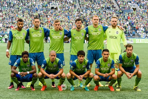 Seattle Sounders vs Portland Timbers - Aug 21 2016