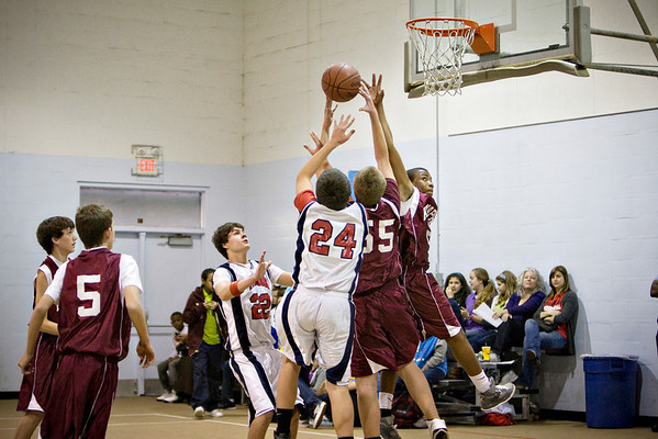 FCMS Boys Basketball 2011