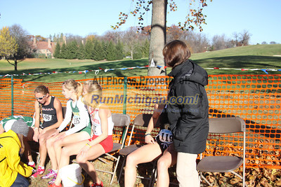 Finish Women - 2012 Summit League XC Championship
