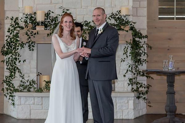 Lauren and Chris's wedding