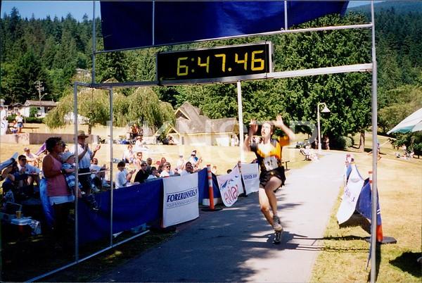 Jul 13, 1996 - Finish line photos
