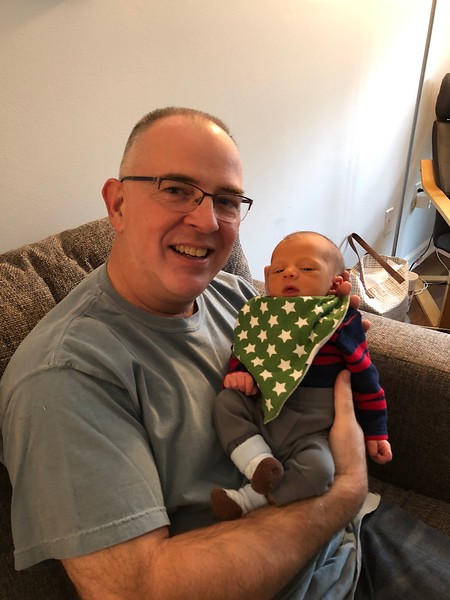 This was my first time to hold Bennett Ryan Manna.
