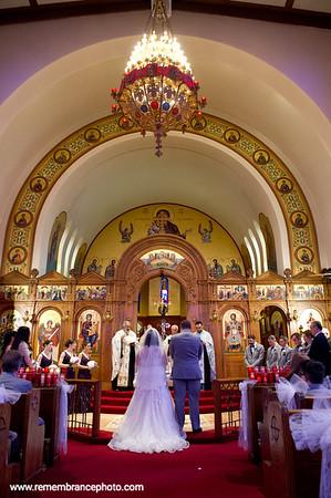 Sarah & John, Trinity Greek Orthodox Church, May 19