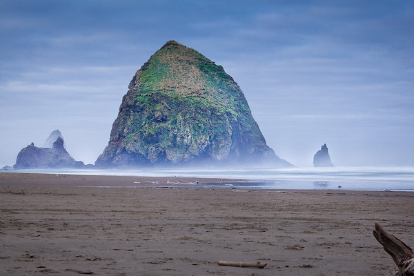 Art Wolfe workshop at Cannon Beach, OR
