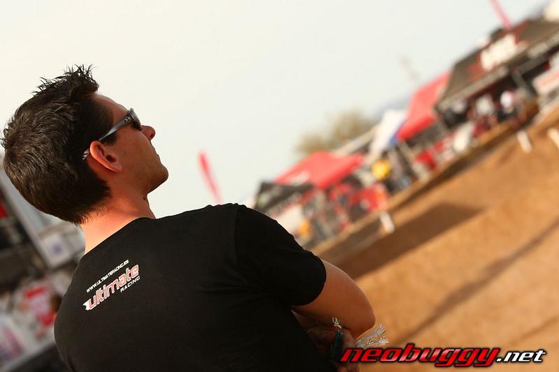 Christophe; Yannick's mechanic 2009 Dirt Nitro Challenge