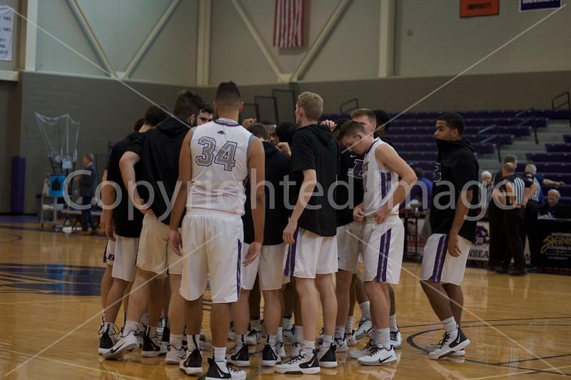 Bluffton Men's Basketball Franklin 020120
