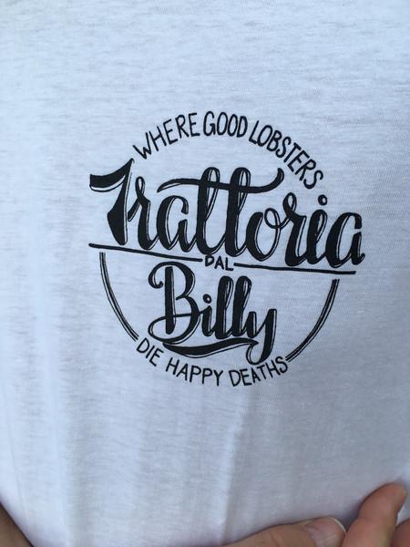 Trattoria da Bill restaurant. Manarola, Cinque Terre