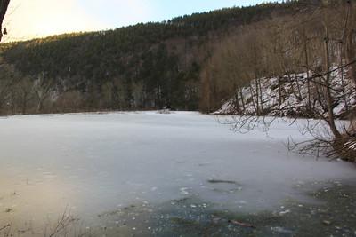 Frozen Lake, Lehighton (1-23-2013)