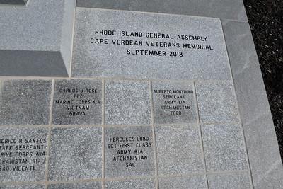 Cape Verdean Veterans Memorial Project Dedication