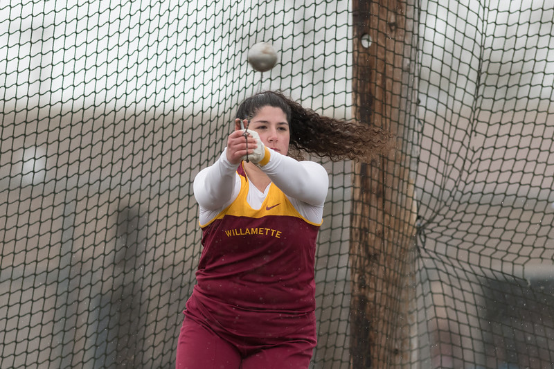Willamette Invitational - Track and Field - Mar. 24, 2018