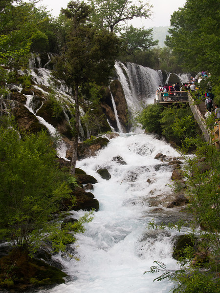 Shuzheng Waterfall,Jiuzhaigou National Park, Sichuan Province