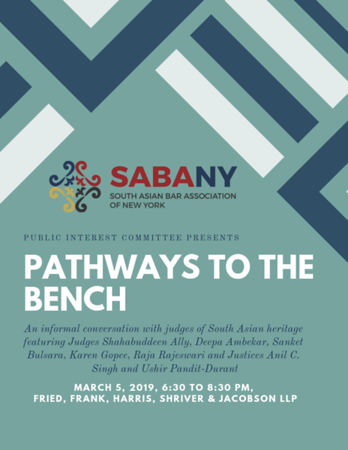 Pathways to the Bench
