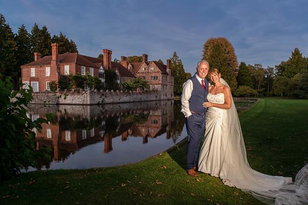 Kim & Mark Wedding  at Birtsmorton Court