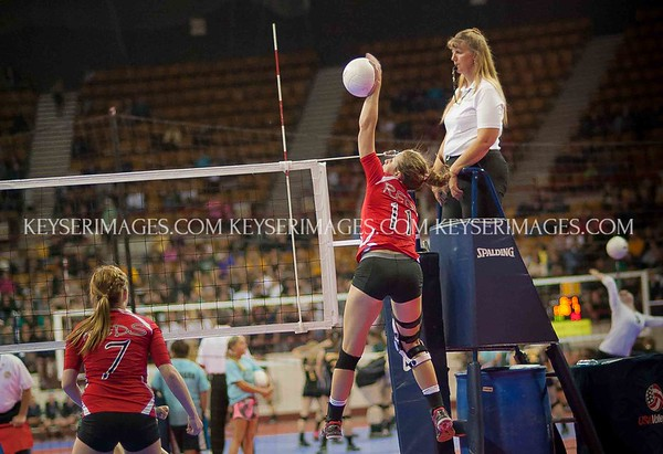 2013 Colorado H.S. State Volleyball Highlights