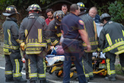 Bethpage F.D. MVA w/ Overturn and Entrapment Central Ave. and Thorne Dr. 8/25/10