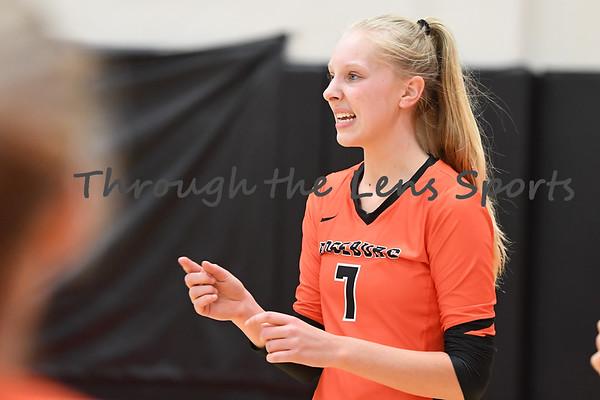 Roseburg vs. South Medford High School Volleyball