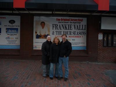 Frankie Valli in Boston 11/09