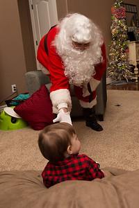32 Santa visits Cooper (December 16, 2013)