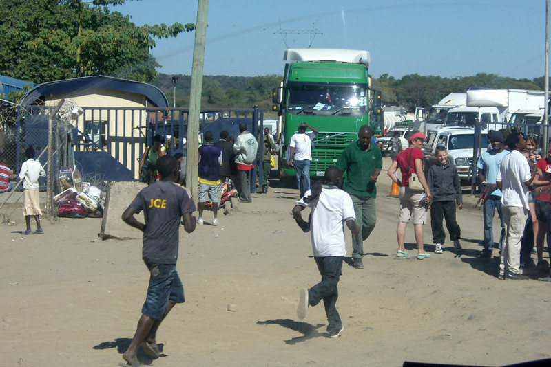 Zambia to Botswana border crossing