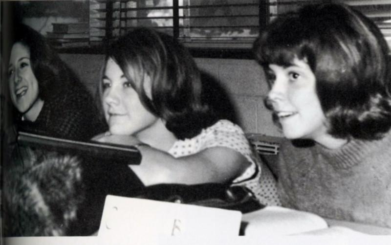 Karyn Keller, Gay Williams, Carolyn Burch