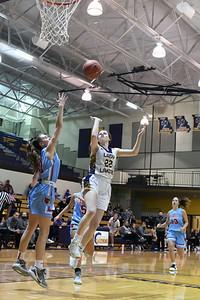 Lady Laker basketball vs Webb City